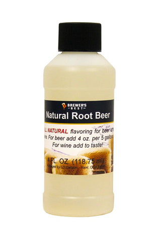 Root Beer Flavoring Extract 4 Oz Natural Flavors