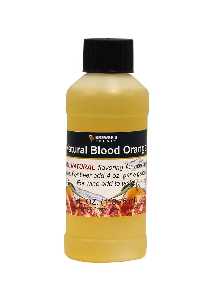 Natural Blood Orange Flavoring Extract 4 oz