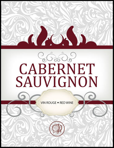 Cabernet Sauvignon Wine Labels 30/pack