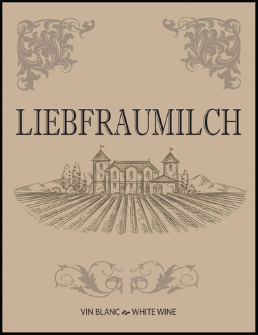 Liebfraumilch Wine Labels 30/pack