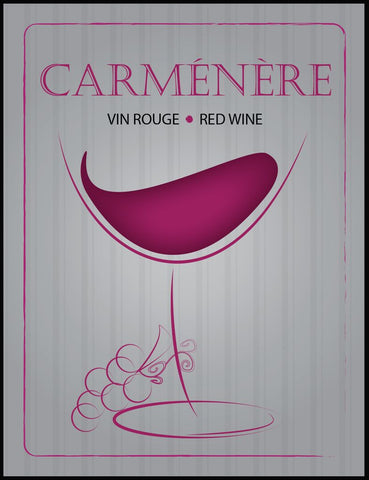 Carmenere Wine Labels 30/pack