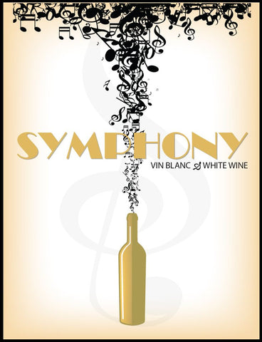 Symphony Wine Labels 30/pack