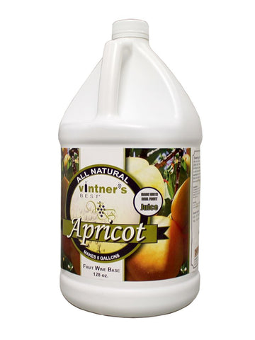 Vintner's Best Apricot Wine Base 128 Oz
