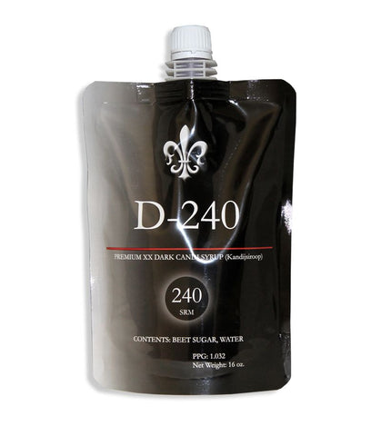 D240 Belgian Candi Syrup 1 Lb Pouch (240 L)