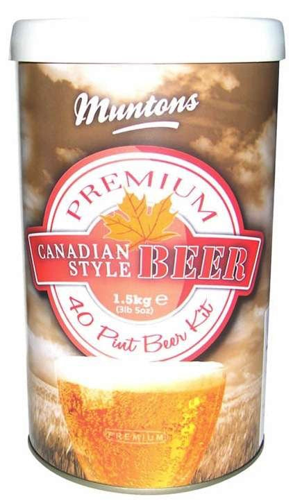 Muntons Canadian Ale Malt Extract - 1 Tin