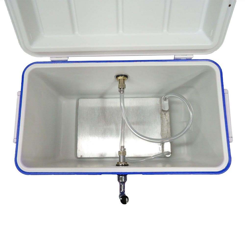 Jockey Box 1 Faucet w/ Cold Plate