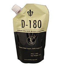 D180 Belgian Candi Syrup 1 Lb Pouch (180 L)