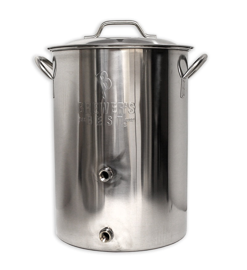 Brewer's Best Basic Brewing Kettle 8 Gallon w/ Valve & Plug