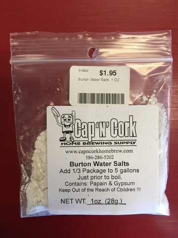 Burton Water Salts 1oz