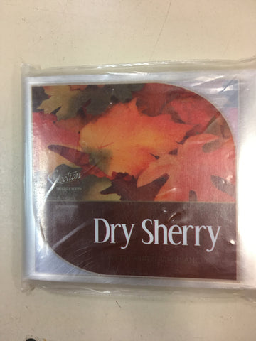 Dry Sherry Wine Labels 30/pack
