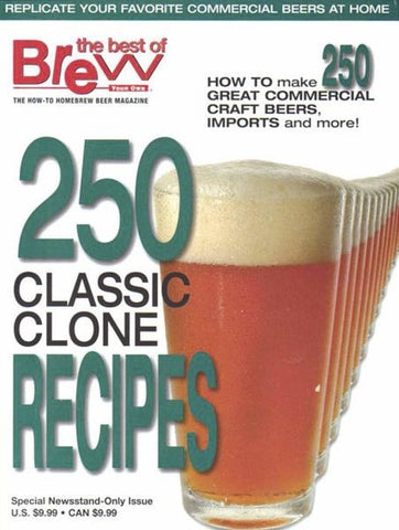 250 Classic Clone Recipes