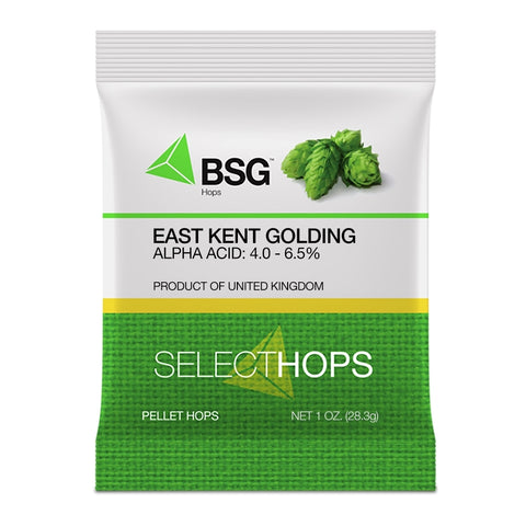 UK Kent Golding Hop Pellets 1 Oz