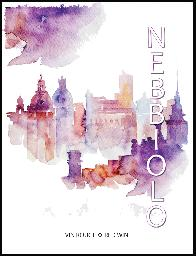Nebbiolo Wine Labels 30/pack