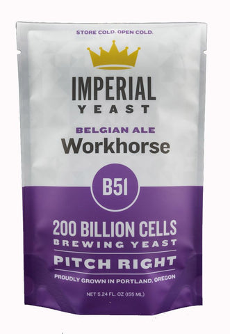 Imperial Liquid Yeast B51 Workhorse Belgain (Kasteel)