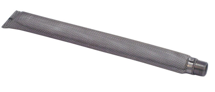 "12"" Stainless Steel Torpedo Screen 1/2"" NPT"