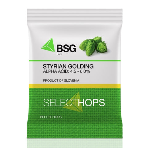 Styrian (Celeia) Goldings Hop Pellets 1 Oz