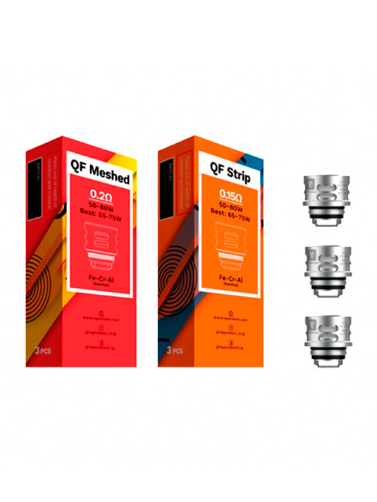 Vaporesso QF Coils for the Luxe S & SKRR-S Sub Tank-VanguardSmoke