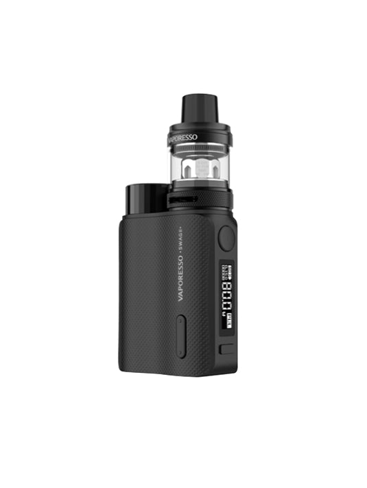 Vaporesso Swag II 80W TC Box starter kit-Black-VanguardSmoke