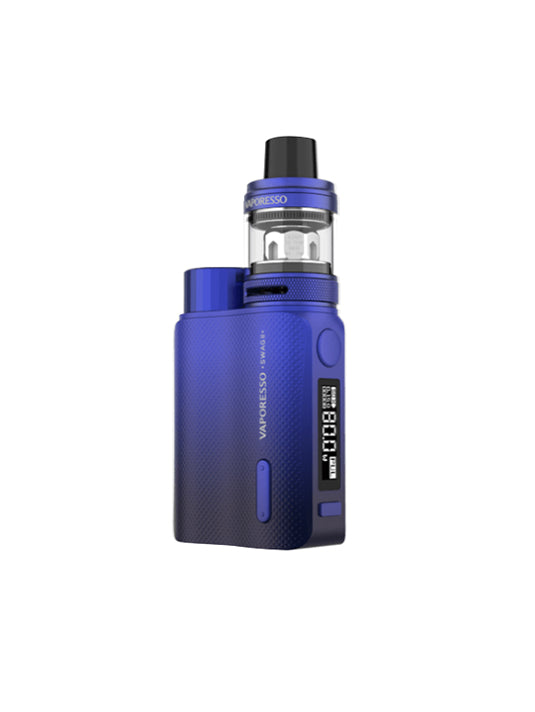 Vaporesso Swag II 80W TC Box starter kit-Blue-VanguardSmoke