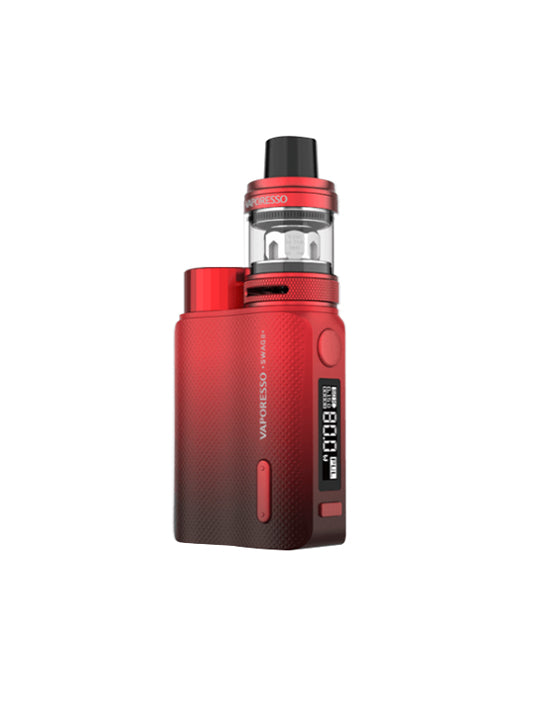 Vaporesso Swag II 80W TC Box starter kit-Red-VanguardSmoke