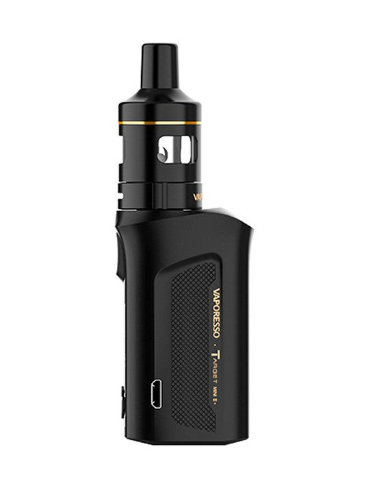 Vaporesso Target Mini 2 2000mAh 50W Box MOD starter kit-Black-VanguardSmoke
