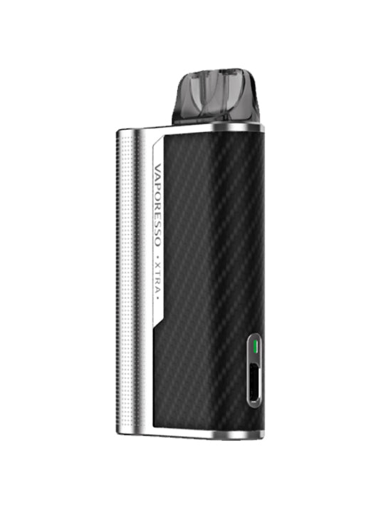 Vaporesso XTRA Pod Kit 900mAh battery-Silver-VanguardSmoke