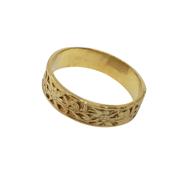 Bittern - Unisex Wedding Ring