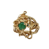 Anise - Emerald  Ring
