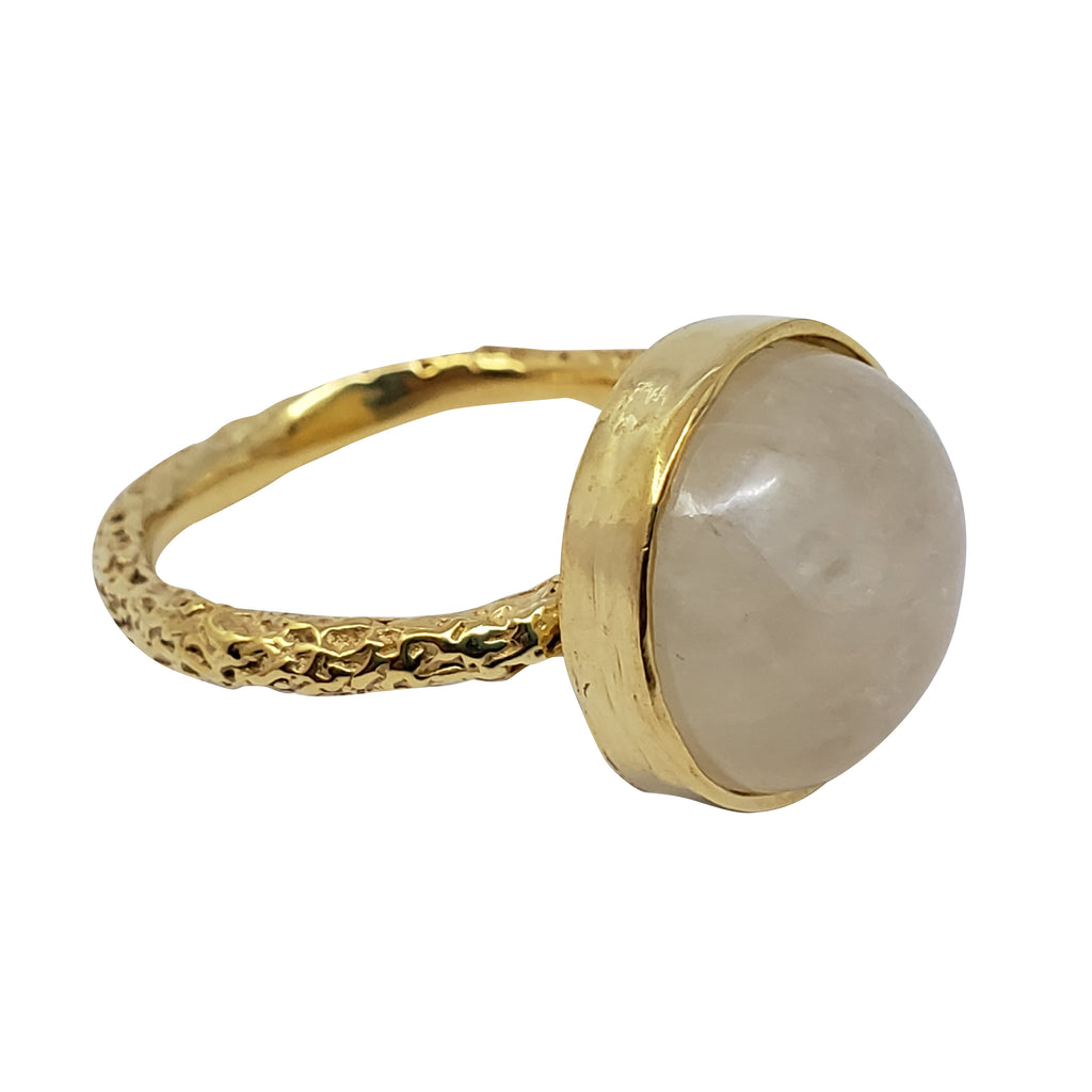 Godetia - Moonstone Ring