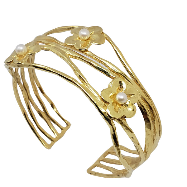 Nicotiana - Pearls Gold Cuff