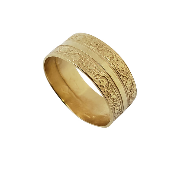 Stonechat - Unisex Wedding Band