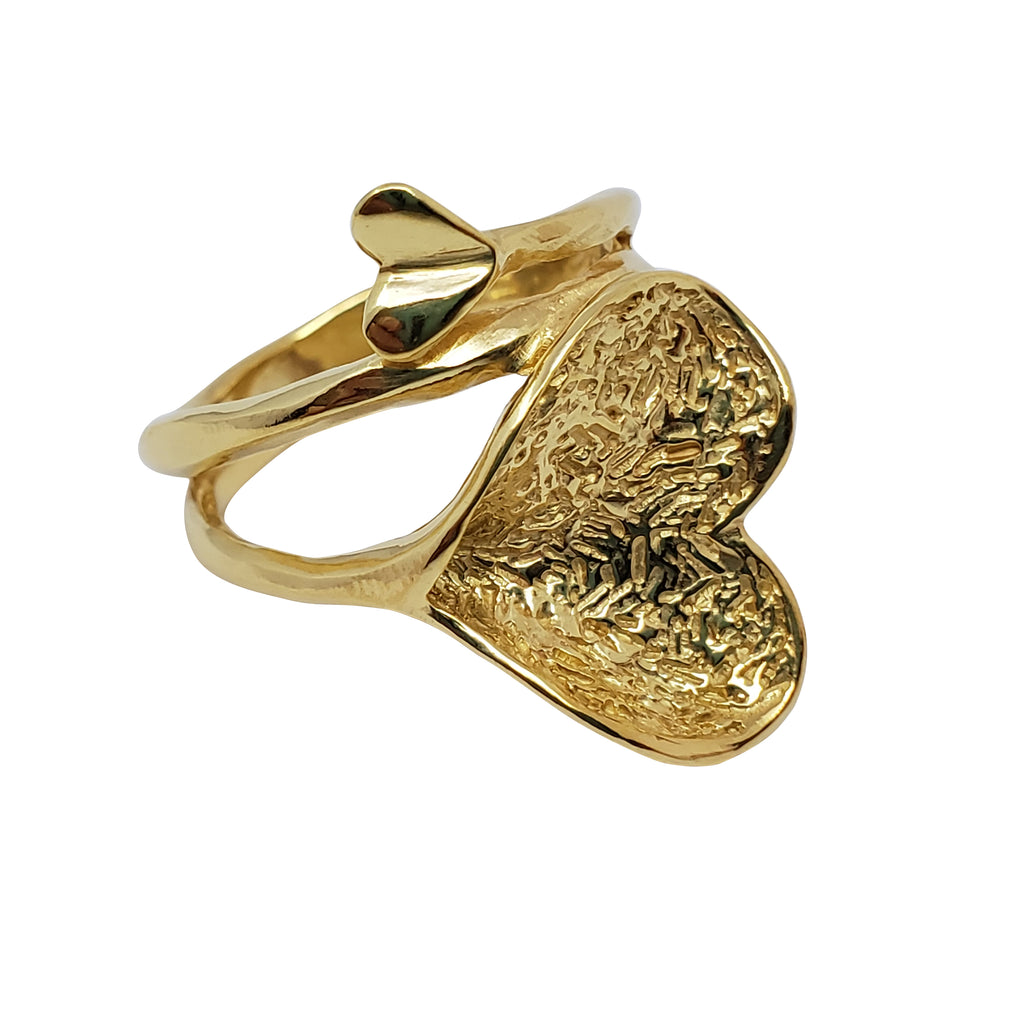 Pansy - Heart Ring