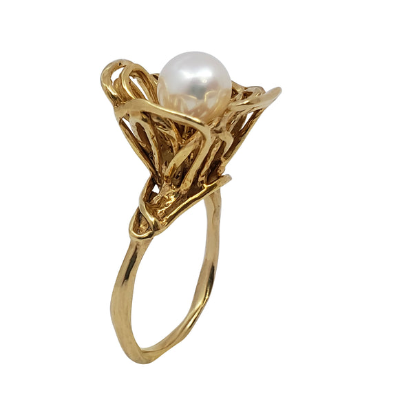 Agrimony - Pearl Ring