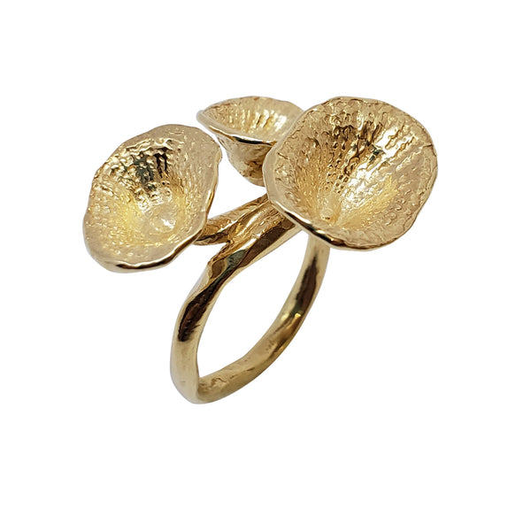 Monstera - Seashell Ring