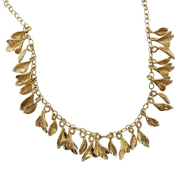 Laburnum - Leaves Necklace