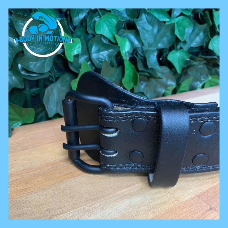 Body in motion Leather belts
