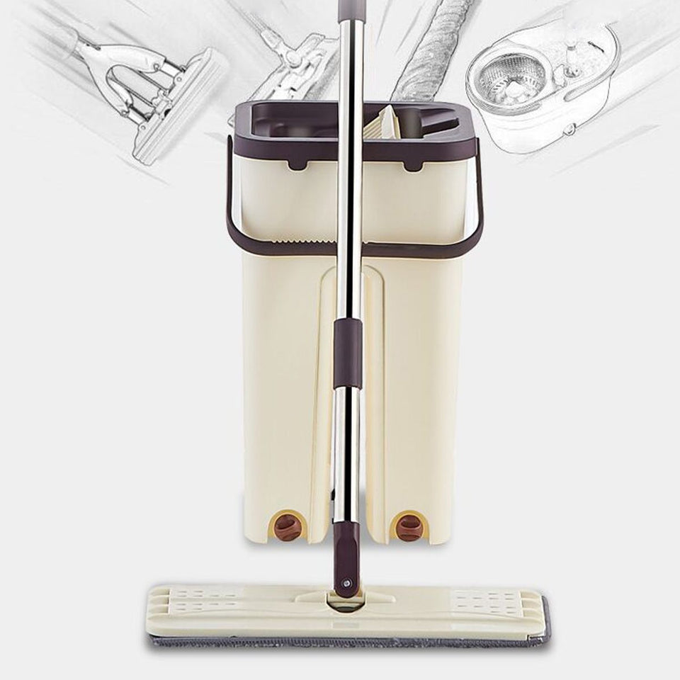 4-in-1 Multi-functional Hands-Free Mop