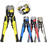 3 IN 1 STRIPPING PLIERS CRIMPER CABLE CUTTER AUTOMATIC WIRE STRIPPER - 1StopShop