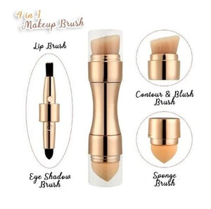 4 IN 1 MULTI-FUNCTIONAL MAKE UP BRUSH - 1StopShop