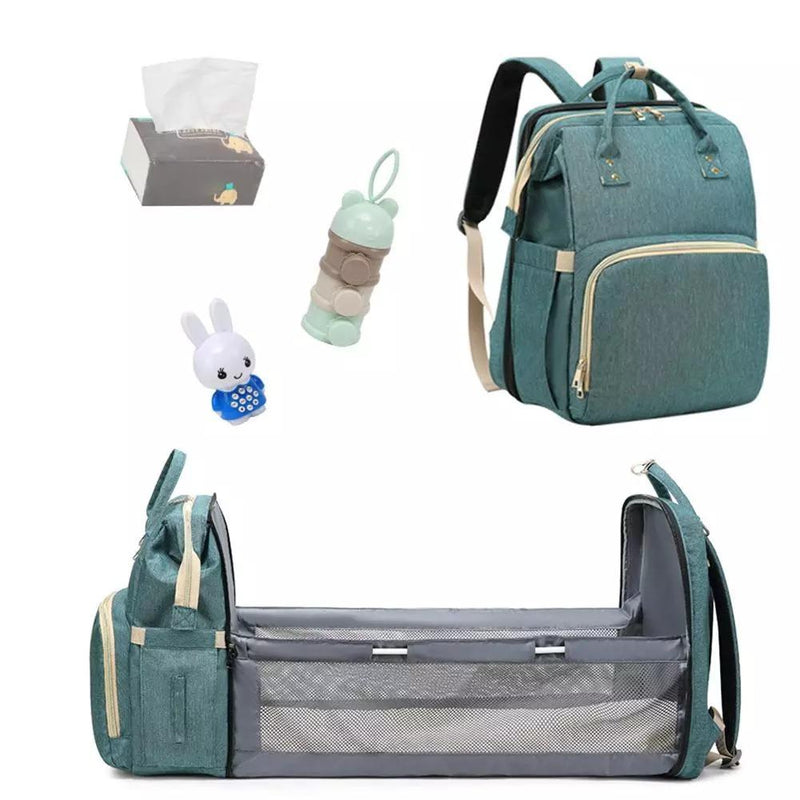 Baby Crib & Diaper Bag - 1StopShop