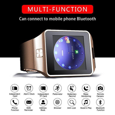 DZ09 Single SIM Smart Watch - 1StopShop