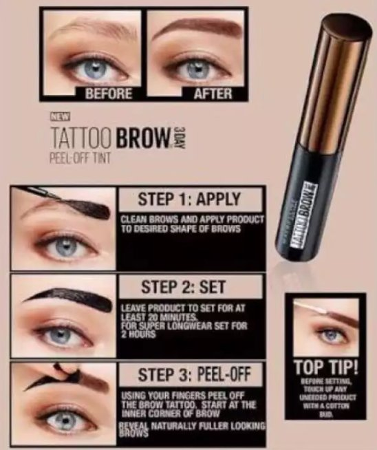 Eyebrow Tattoo (Buy 1 Take 1) - 1StopShop