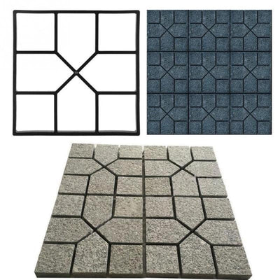 Floor Path Mold Pattern (4 Unique Styles) - 1StopShop