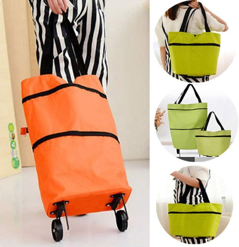 FOLDABLE SHOPPING TROLLEY TOTE BAG (BUY 1 TAKE 1 TODAY ONLY!) - 1StopShop