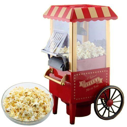 Home Vintage Retro Electric Popcorn Maker Popper Countertop Machine - 1StopShop