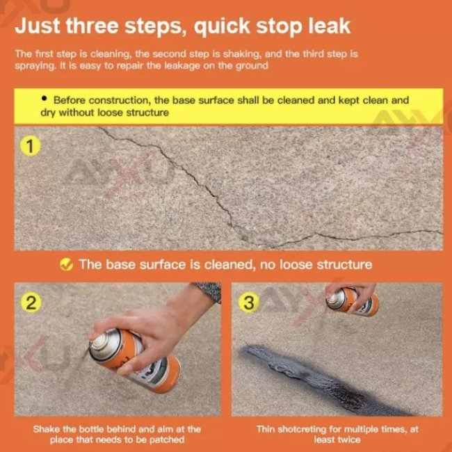 MULTIPURPOSE LEAK / CRACK SPRAY SEALER - 1StopShop