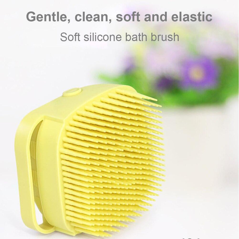 🛁 Silicone Massage Bath Brush Liquid Soap Dispenser 🛁 - 1StopShop
