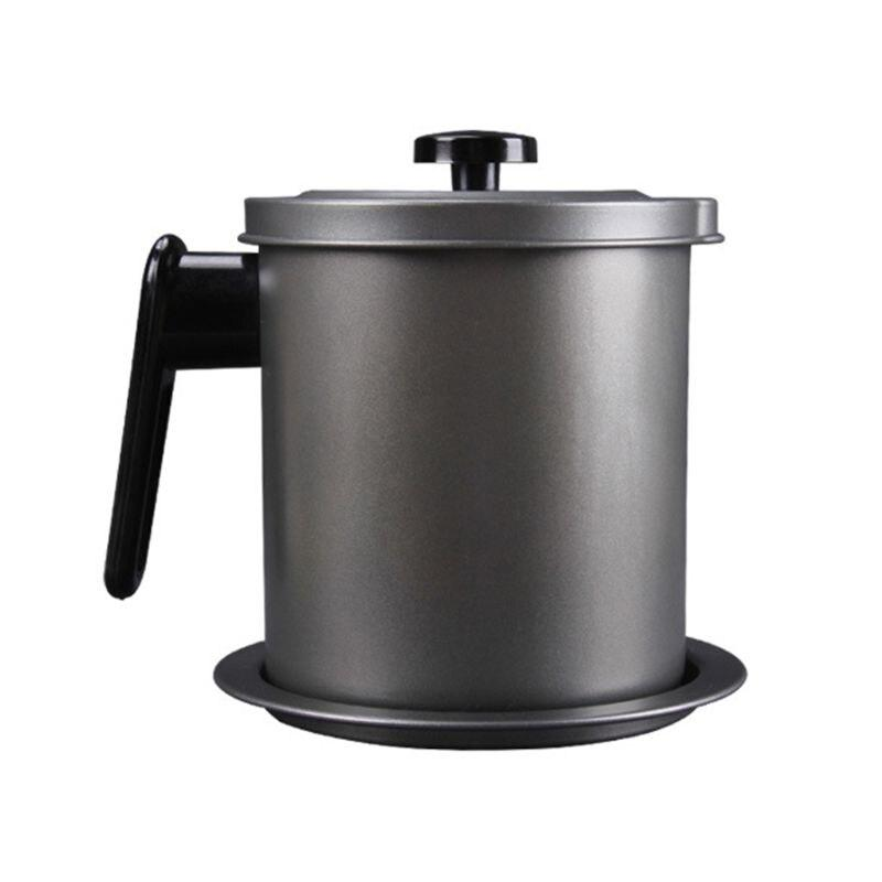 Stainless Steel Oil Pot 1.4L - 1StopShop