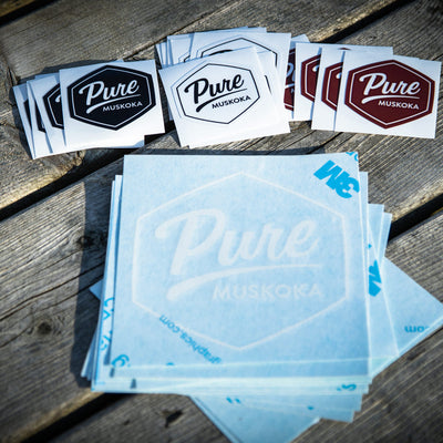 Pure Muskoka Sticker Collection