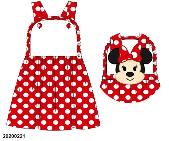 Minnie Back Dress PO7 - ETA early June